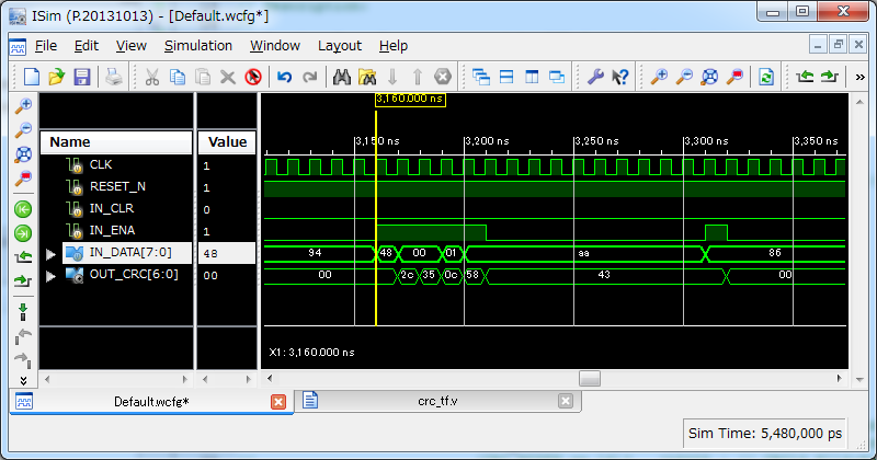 CRC7(8bit)